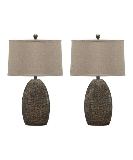 Signature Design By Ashley Furniture Melvin Poly Table Lamp Set Of