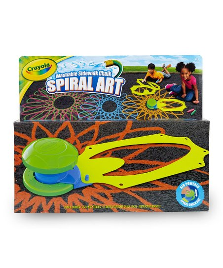 Outdoor Chalk Spiral Art Kit