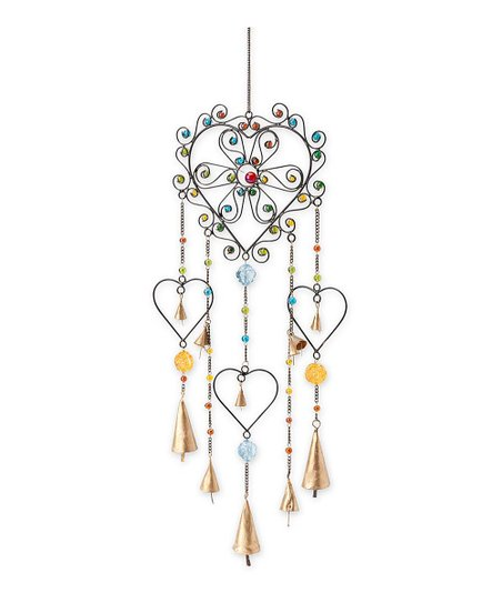 Plow Hearth Heart Wind Chime Zulily