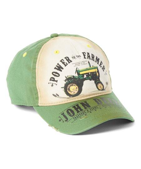 a78e95c4f9d love this product Green   White  John Deere Power Farmer  Baseball Cap