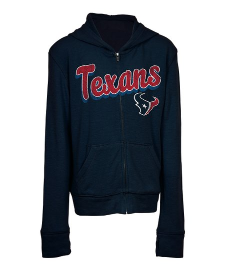 c7a04d0f 5th & Ocean Houston Texans Zip-Up Hoodie - Kids