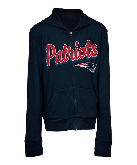 6206fe0d 5th & Ocean New England Patriots Zip-Up Hoodie - Kids