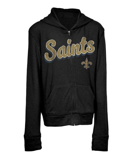 5th Ocean New Orleans Saints Zip Up Hoodie Kids