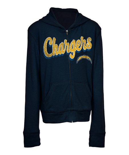 best value 98097 e2b4d 5th & Ocean San Diego Chargers Zip-Up Hoodie - Kids | Zulily