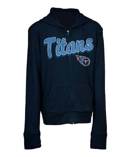 d6c9d984 5th & Ocean Tennessee Titans Zip-Up Hoodie - Kids