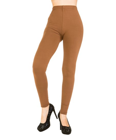 f9b7a3cd6e5e5e Juicy Leggings Mocha Leggings - Plus | Zulily