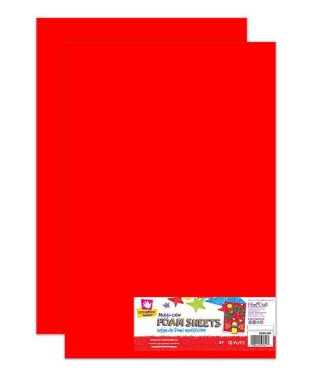 Creative Hands 12 Ct Foam Sheet Set Of Two Zulily
