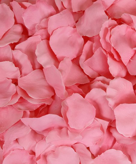 Candy Pink Silk Rose Petal Confetti