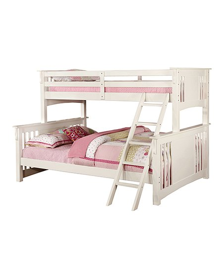 Furniture Of America White Cottage Style Bunk Bed Zulily
