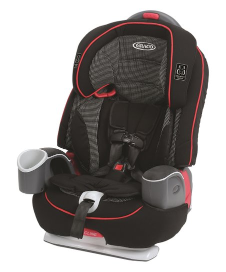 Black Red Nautilus 65 LX Car Seat