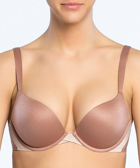 ddfa11c4ac3 love this product Pillow Cup Signature Push-Up Plunge Bra - Cocoa Blush    Pink