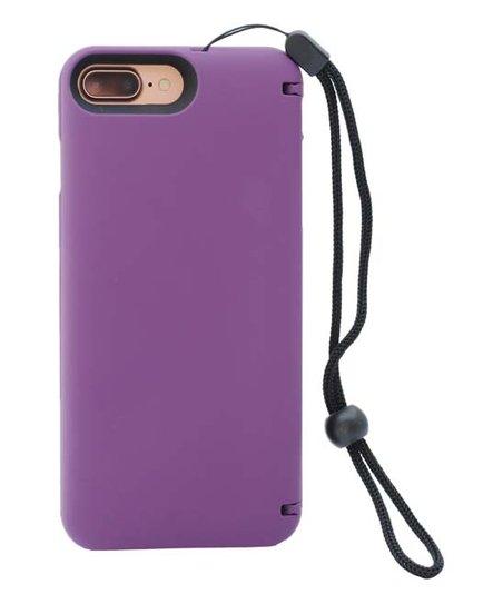 size 40 8600c d6153 eyn Deep Purple Wallet Storage Case for iPhone 7 Plus & 8 Plus