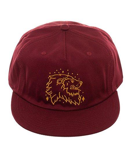 Bioworld Harry Potter Gryffindor Lion Baseball Hat  d45e5bc11c4