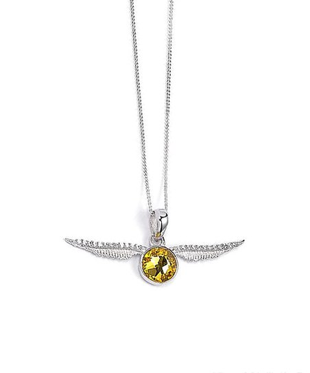 The Carat Shop Harry Potter Golden Snitch Necklace with Swarovski® Crystals