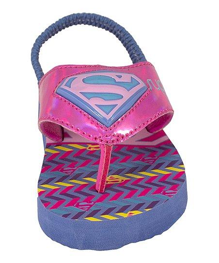 Trimfoot Supergirl Pink Light-Up Sandal