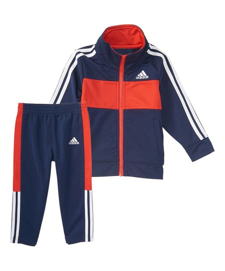 13be35bd9 love this product Navy Team Tricot Jacket & Active Pants - Toddler & Boys
