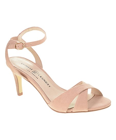 c2d46bd8b7d Chinese Laundry Dark Nude Suede Rosita Sandal - Women