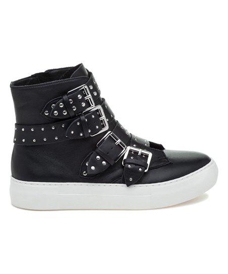 Aghast Leather Hi-Top Sneaker - Women