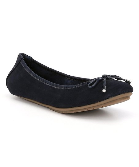 fb6bec4e1c28be love this product Navy Suede Halle Ballet Flat - Women