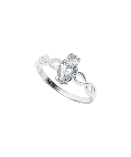 53685b370 love this product Sterling Silver Marquise Ring With Swarovski® Crystals