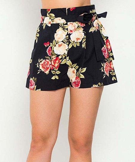 Jealous Tomato High waist floral shorts