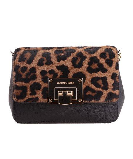 Brown Leopard Print Tina Crossbody Bag