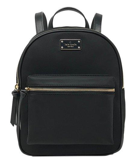 5fb4d4fcd992 Kate Spade Black Wilson Road Small Bradley Backpack