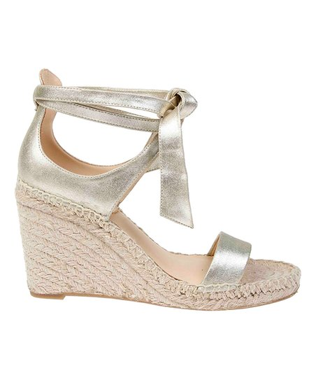 5eff9f7398a Badgley Mischka Platino Berkley Leather Espadrille - Women