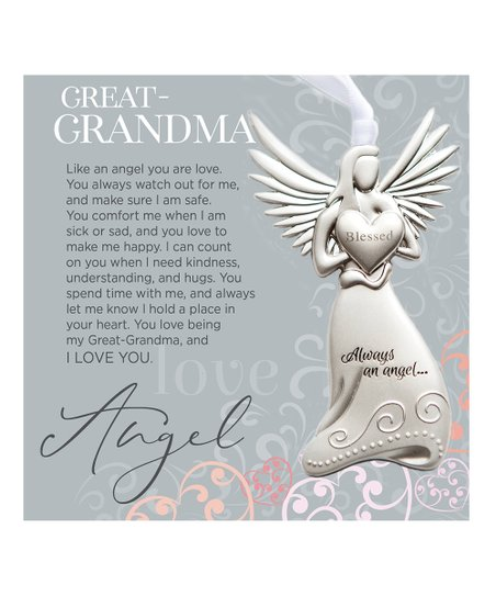 The Grandpa Gift Co Great Grandma Angel Poem Frame Zulily