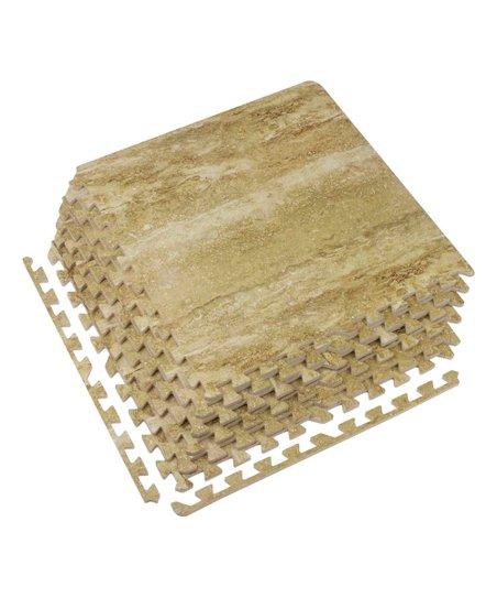 Love This Product 24 Woodgrain Interlocking Floor Tile Set Of Six