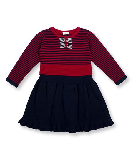 5fc025dc9d love this product Garnet   Black Sweater Dress - Toddler   Girls