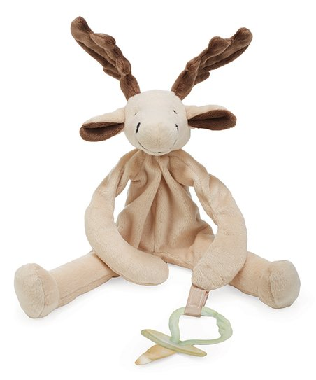 Bunnies By The Bay Bruce Silly Buddy Plush Toy Pacifier Holder