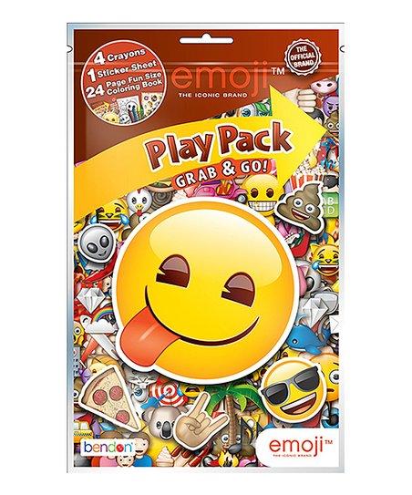 Bendon Publishing International Inc Emoji Coloring Book Set Zulily