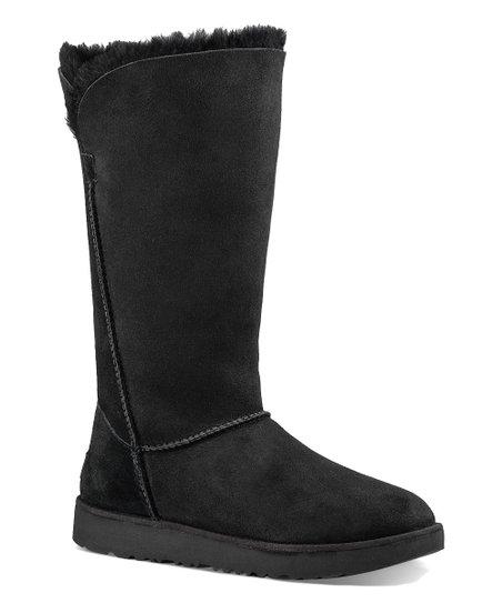 703f5d34e16 UGG® Black Classic Cuff Tall Sheepskin Boot - Women