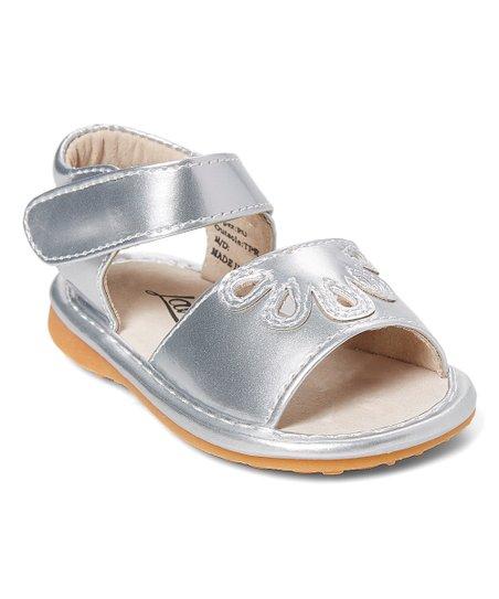 e0f7fc3fc0a37 love this product Silver Ella Squeaker Sandal - Girls