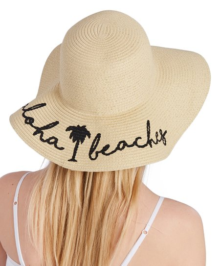 e033554de8d David   Young Natural Aloha Beaches UPF 50+ Sunhat