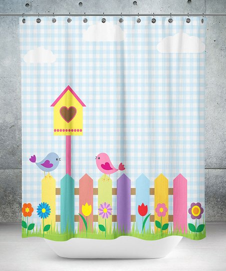 Oyo Home Birdhouse Shower Curtain