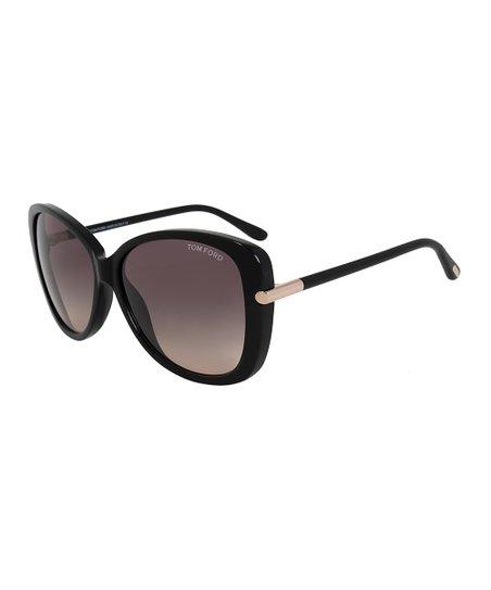 036832b3df1c4 Tom Ford Black   Gray Butterfly Sunglasses
