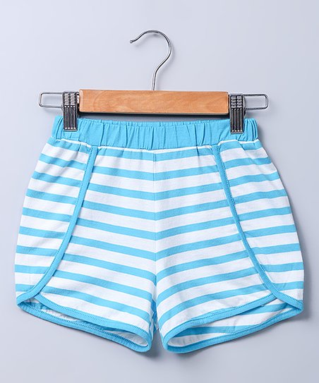 ca7a294badf4 love this product Blue & White Stripe Shorts - Newborn, Infant, Toddler &  Girls