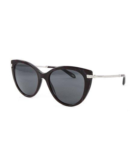 6311310cdff2 Tiffany & Co. Red Shell & Gray Cat-Eye Sunglasses | Zulily