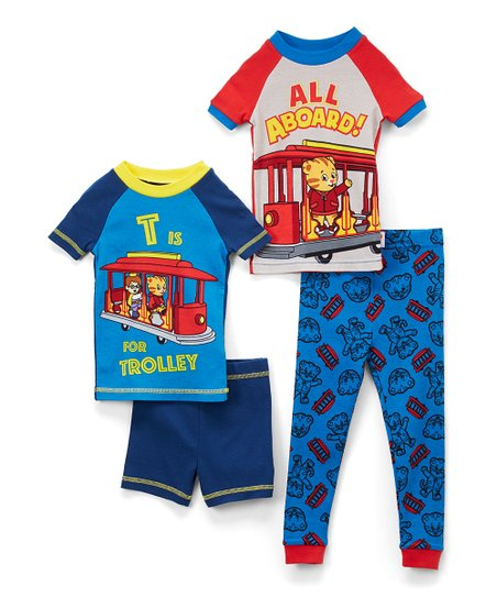 love this product Daniel Tiger  All Aboard     Trolley  Sleepwear Set -  Toddler 870776bf4
