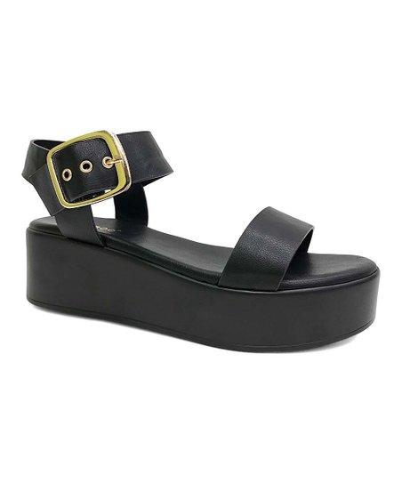 26cd54709ca Bamboo Black Bonus Sandal - Women