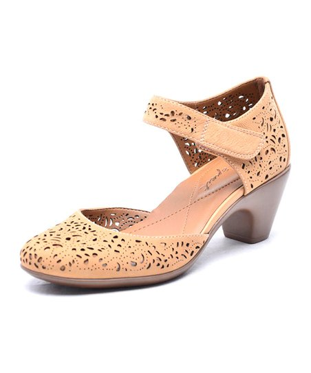 a1c46be2ed26 Easy Spirit Biscuit Leather Cindie Pump - Women