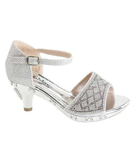 silver open toe dress shoes