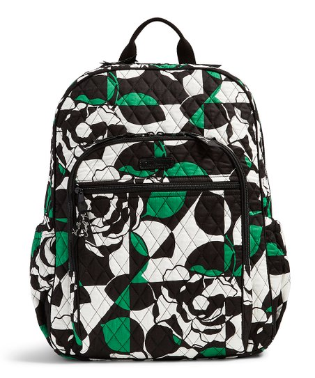 bc68fb7e96 Vera Bradley Imperial Rose Campus Tech Backpack