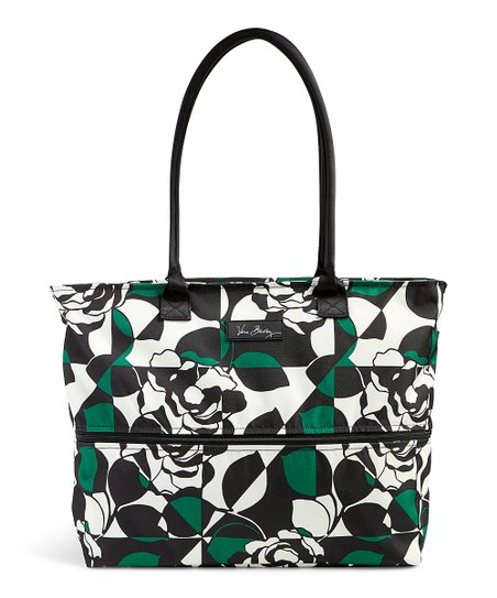 Vera Bradley Imperial Rose Lighten Up Expandable Travel Tote  5251179fcf2a4
