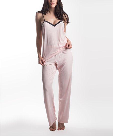 e6bfa9af5 Maidenform Sunset Pink Wildly Classic Sleeveless Pajama Set - Women ...