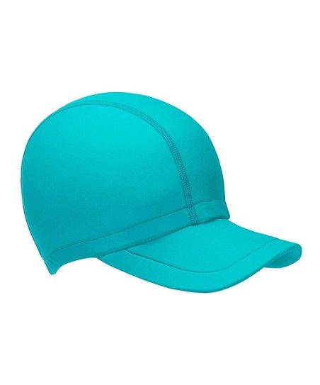 0f2922fe845f9 Swimlids Dark Teal UPF 50+ Baseball Cap