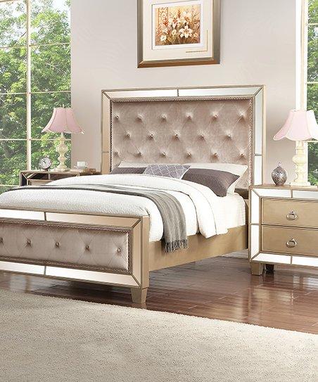Super Brown Three Piece Tufted Chateau Bedroom Set Download Free Architecture Designs Itiscsunscenecom