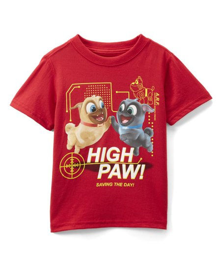 Childrens Apparel Network Red Puppy Dog Pals Tee Toddler Zulily